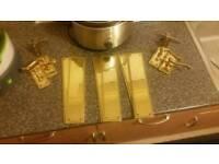 Brass door furniture