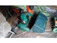 Suffolk Colt motor mower (qualcast) (1990s) needs repair - buyer collects