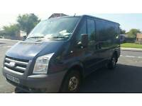 2010 ford transit 115 t300s swb top spec sat nav air con t260 6 speed