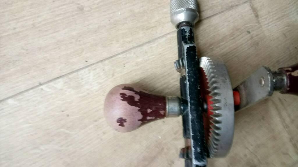 Stanley hand drill