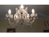 Marie Therese Genuine Austrian Crystal Chandeliers - Two