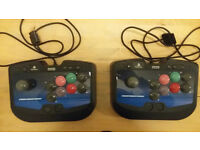 Hori Fighting Sticks 2 for PlayStation *arcade stick* x 2