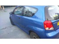 Chevrolet Kalos S. 2007 MOT Jan 18 92K, Car Drives Great Very Nippy For Engine Size. Low Insurance