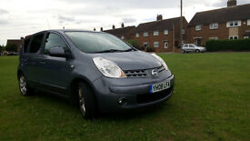 2008 Nissan Note 1.6 16v Tekna 5dr Automatic