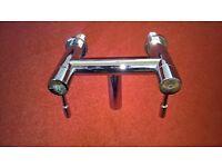 chrome mixer taps