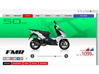 Lexmoto FMR 50 moped