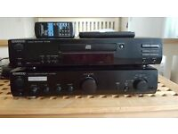 Kenwood Amp + CD Player