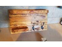 Reclaimed shelf
