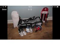 Cricket Equipment and Hold-all ( Junior)