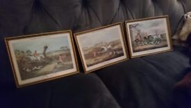 Trio of Hunting pictures