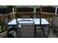 Garden Table And chairs 6