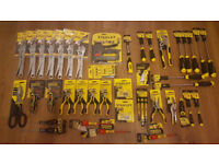 Brand NEW - STANLEY HAND TOOLS 40+ Joblot HUGE PROFIT GUARANTEED ! BARGAIN