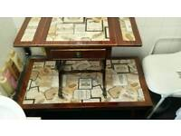 Heritage side table & coffee table