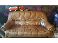 3seater 2chairs footstool
