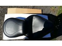 A Mustang seat for a honda shadow 750 could be use on trike etc