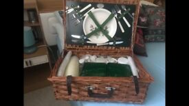 Wicker Picnic Hamper NEW