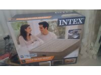 Airbed with electric pump brand new