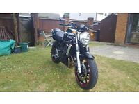 Yamaha FZ6N, Excellent Condition, Low miles.