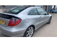 Mercedes-Benz, C CLASS, Saloon, 2002, Semi-Auto, 1796 (cc), 4 doors