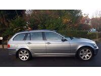 BMW 330D AUTO, 04 REG, 120K MILES, FSH, HPI CLEAR, PARKING SENSORS, DRIVES MINT, LONG MOT