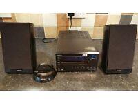 Onkyo CR-325UKD Mini HiFi CD, DAB,System & ipod dock. 26 Watts per Channel.