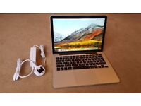 Macbook pro Retina 13 inch (mid 2014) i5 CPU, 250GB SSD, 8GB RAM, in very good condition!