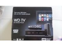 WD TV HD Media player for sale