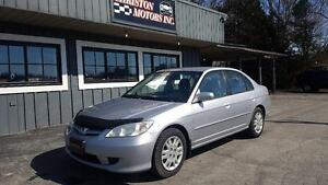 2004 Honda CIVIC LX CERTIFIED ETESTED ONLY  $2499+taxes