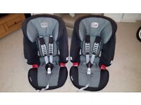 2 x Britax Evolva 123 car seats. £50 each or £85 for both. Collection only.