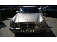 R Reg 1998 Mercedes Benz E300 TD Auto 7 Seater Elegance Estate W210