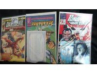 2 signed comics plus daredevil 132 2nd bullseye