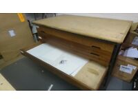 Large 5 Drawer Plan Chest