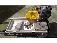 Electric tile cutter 240 volt .saw