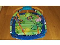 Bright Starts Baby Activity Gym Play Mat with music