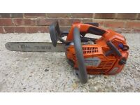 Husqvarna 540xp top handle climbing saw current model costs over £550