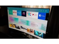 SAMSUNG 55-inch CURVED TV SUPER Smart SUHD QUANTUM DOT 4K LED TV-55MU9000,Wifi,WITH ONE CONNECT