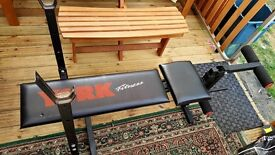 YORK weight training bench multifunction -