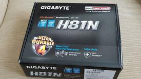 Brand New H81N Gigabyte Motherboard & Intel Quad Core i5-4590 CPU