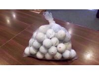 50 GOLF BALLS FOR SALE - COLLECTION ONLY.