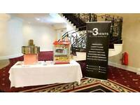 PHOTOBOOTH, CANDYFLOSS, POPCORN HIRE, CAR HIRE | FROM £249