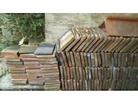900 Bridgewater red clay roof tiles! £100ono