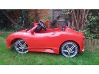 Ferrari Toy Car