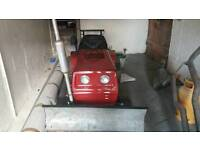 Lawnflite tractor snow plough