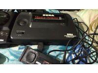 Sega master system and mega drive console