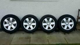 """Chevrolet Captiva / will fit Vauxhall Antara 17"""" Alloy Wheels"""
