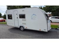 2005 Burstner Flipper 435 TK 4 Berth Touring Caravan