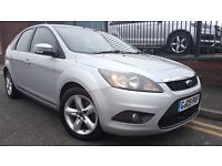 2009 Ford Focus 1.8 TDCi Zetec 5dr Hatchback, DUAL MASS FLY WHEEL AND TIMING BELT BEEN DONE, £2,295