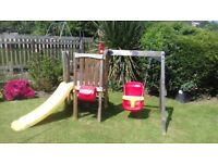 Plum toddler wooden climbing frame