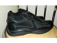 for sale parda black shoes