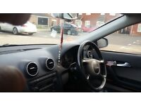 Audi A3 in good condition with one year MOT and 130000 mileage